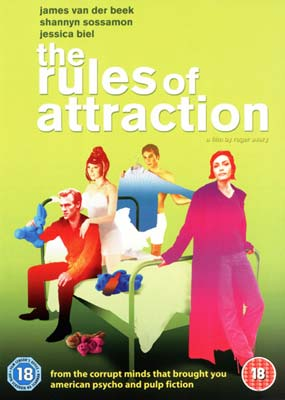 Rules of Attraction,    The  (DVD) - Klik her for at se billedet i stor størrelse.