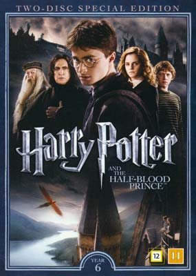 Harry Potter and the     Half Blood   Prince (2-disc) (DVD) - Klik her for at se billedet i stor størrelse.