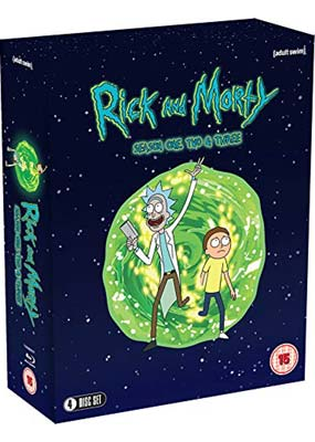 Rick and Morty: Seasons 1-3 (4-disc) (Blu-ray) (BD) - Klik her for at se billedet i stor størrelse.