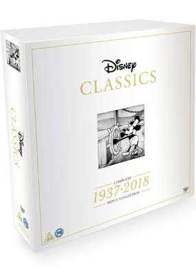 Disney Classics: Complete 1937-2018 Movie Collection (55 film)  (DVD) - Klik her for at se billedet i stor størrelse.