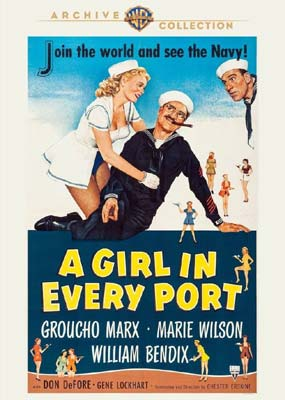 Girl in Every Port, A (Warner Archive) (DVD) - Klik her for at se billedet i stor størrelse.