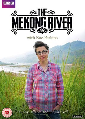 The Mekong River With Sue Perkins  (DVD) - Klik her for at se billedet i stor størrelse.