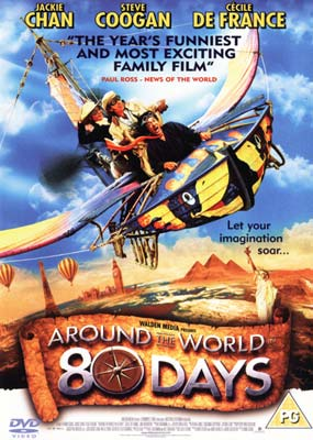 Around the World in 80 Days  (Jackie Chan)  (DVD) - Klik her for at se billedet i stor størrelse.