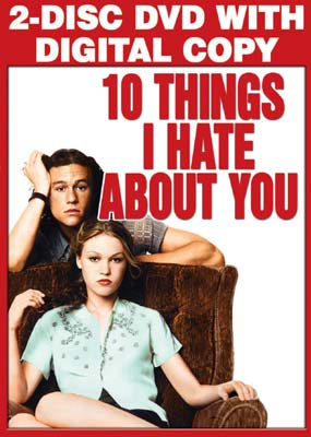 10 Things I Hate About You  (DVD) - Klik her for at se billedet i stor størrelse.