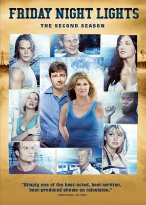Friday Night Lights: Season  2 (4-disc) (DVD) - Klik her for at se billedet i stor størrelse.