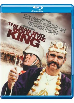 Man Who Would Be King, The  (Blu-ray) (BD) - Klik her for at se billedet i stor størrelse.