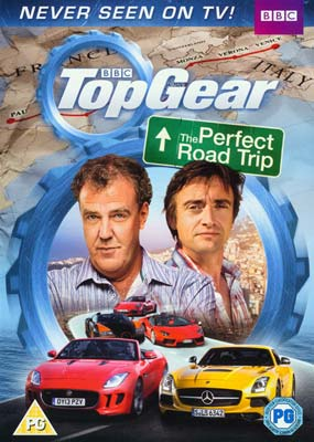 Top Gear: The Perfect Road Trip 1  (DVD) - Klik her for at se billedet i stor størrelse.
