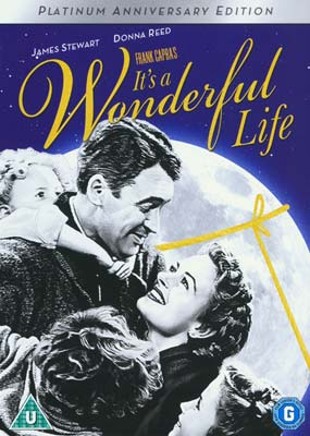 It's a Wonderful   Life (Colorised + B&W) (2-disc) (DVD) - Klik her for at se billedet i stor størrelse.