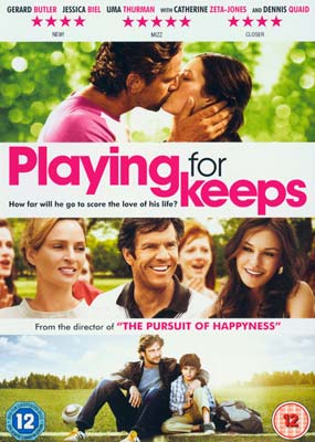 Playing for Keeps (Gerard   Butler)  (DVD) - Klik her for at se billedet i stor størrelse.