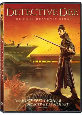 Detective Dee: The Four Heavenly Kings  (DVD) - Klik her for at se billedet i stor størrelse.