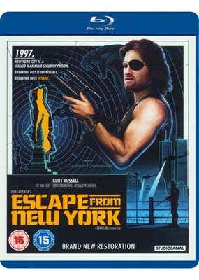 Escape from New York (New Restoration) (Blu-ray) (BD) - Klik her for at se billedet i stor størrelse.