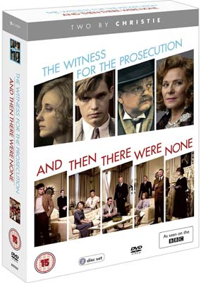 Two By Christie: The Witness for the Prosecution & And Then There Were None (2-pack) (DVD) - Klik her for at se billedet i stor størrelse.