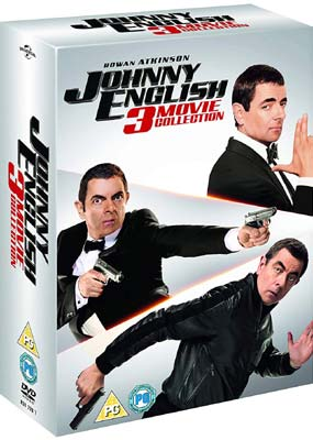 Johnny English: 3-Movie Collection (3-pack) (DVD) - Klik her for at se billedet i stor størrelse.