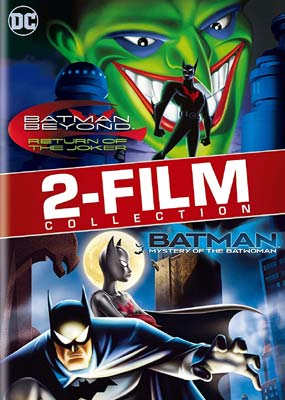 Batman Beyond: Return of the Joker / Mystery of the Batwoman  (DVD) - Klik her for at se billedet i stor størrelse.