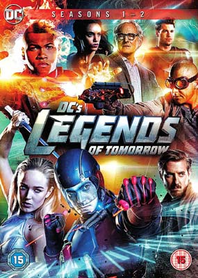 DC's Legends of Tomorrow: Seasons 1 &  2 (2-pack) (DVD) - Klik her for at se billedet i stor størrelse.