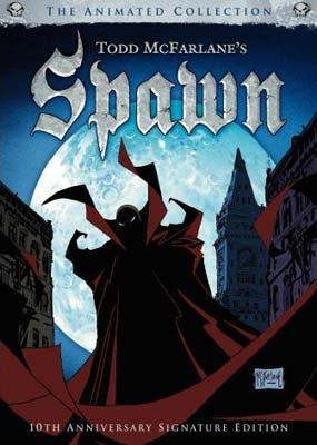 Spawn: The Animated Collection (4-disc) (DVD) - Klik her for at se billedet i stor størrelse.