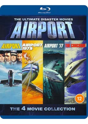 Airport: The 4-Movie Collection (Blu-ray) (BD) - Klik her for at se billedet i stor størrelse.