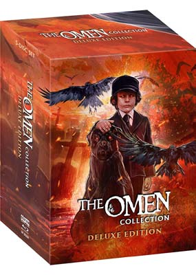 Omen Collection, The: Deluxe Edition (Blu-ray) (BD) - Klik her for at se billedet i stor størrelse.