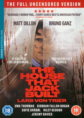 House That Jack Built, The  (DVD) - Klik her for at se billedet i stor størrelse.