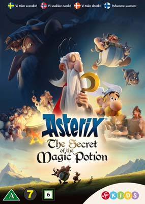 Asterix the secret of the magic potion book