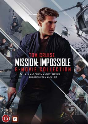 Mission Impossible: 6-Movie Collection  (DVD) - Klik her for at se billedet i stor størrelse.