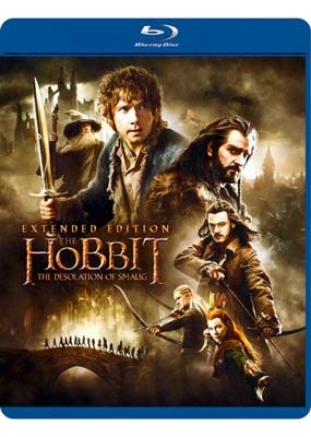 Hobbit,  The: The Desolation of     Smaug - Extended (3-disc) (Blu-ray) (BD) - Klik her for at se billedet i stor størrelse.