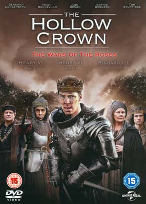 Hollow Crown, The: Series   2 - The Wars of the Roses (3-disc) (DVD) - Klik her for at se billedet i stor størrelse.