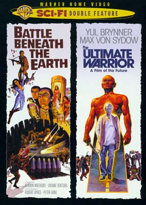 Battle Beneath the Earth / The Ultimate Warrior  (DVD) - Klik her for at se billedet i stor størrelse.