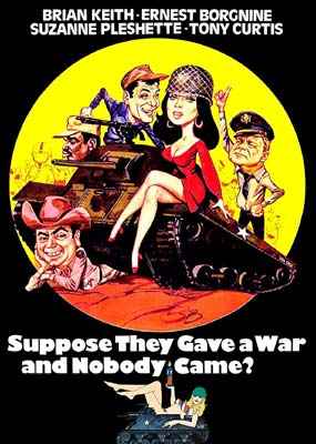 Suppose They Gave a War and Nobody Came?  (DVD) - Klik her for at se billedet i stor størrelse.
