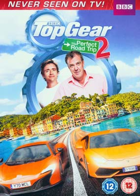 Top Gear: The Perfect Road Trip 2  (DVD) - Klik her for at se billedet i stor størrelse.