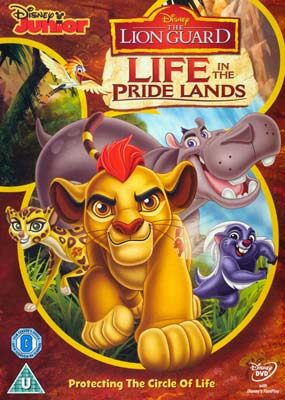 Lion Guard, The #2: Life in the Pride Lands  (DVD) - Klik her for at se billedet i stor størrelse.