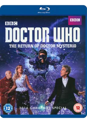 Doctor Who: The Return of Doctor Mysterio (2016 Christmas Special) (Blu-ray) (BD) - Klik her for at se billedet i stor størrelse.