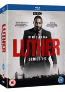 Luther: Series 1-5 (Blu-ray)
