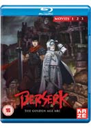 Berserk: The Golden Age Arc Movies 1-2-3 (Blu-ray)